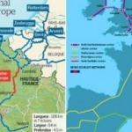 Türkiye Kanal İstanbul tartışırken Avrupa'da projeler art arda devam ediyor