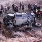 Elazığ'da polis zırhlı aracı kaza yaptı: 5 yaralı