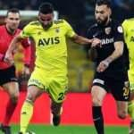 Fenerbahçe - Kayserispor! Maçta ilk yarı! CANLI