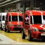 Üretilen 100 araçtan 89'u ihraç edildi