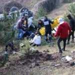 Düzce'de minibüs kaza yaptı: Çok sayıda yaralı var