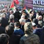 İstanbul'da siyasi parti ve STK'lar Kudüs için tek yürek oldu
