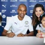 Fernandinho 2021'e kadar Manchester City'de