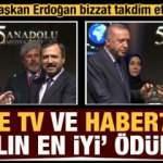Ülke TV ve Haber7'ye ödül! Başkan Erdoğan bizzat tevdi etti