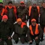 Bulgaristan'dan gelip 22 yaban domuzu avladılar