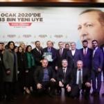 Cumhurbaşkanı Erdoğan'dan, yeni AK Parti üyelerine sürpriz telefon