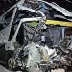 Yolcu otobüsü TIR'a çarptı: 1 ölü 1 yaralı
