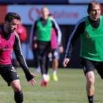 Beşiktaş 4 eksikle çalıştı