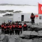 Bilim Heyeti Antarktika'daki Türk Üssü'ne ulaştı