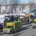 Kanada'da zincirleme kaza! 2 ölü 70 yaralı