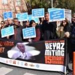 Sağlık çalışanlarından şiddete karşı eylem