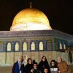 Atakum Anadolu İmam Hatip Lisesi öğrencileri Kudüs'e gitti