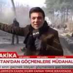 Ülke Tv Yunanistan polisinin biber gazına maruz kaldı