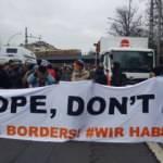 Almanya'da binlerce kişi sığınmacılar için yürüdü: Avrupa öldürme, sınırlarını aç