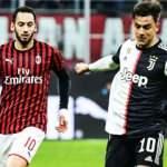İtalya Kupası'nda Juventus-Milan maçı ertelendi