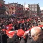 """Hakkari'de """"Bahar Kalkanı Harekatı""""na destek yürüyüşü"""