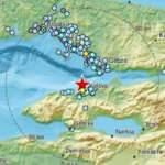 Marmara'da korkutan deprem! İstanbul'da da hissedildi! EMSC şok haritasını yayınladı