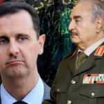 Libya'dan dikkat çeken Hafter açıklaması: Esed, Hizbullah ve İran...
