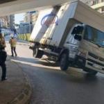 İstanbul'da görenleri şaşkına çeviren kaza
