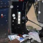 Kırıkkale'de minibüs, yolcu otobüsüne çarptı: 1 ölü, 1 yaralı