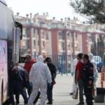 Yurt dışından gelenler, Tekirdağ'daki yurtlara yerleştiriliyor