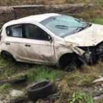 Bu araçtan 4 kişilik aile yara almadan kurtuldu