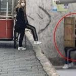 Polis etrafını sardı...Karantinadan kaçan kadın yakalandı!