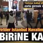 Türkiye kabul etmeyince Cezayirliler, İstanbul Havalimanı'nı birbirine kattı!