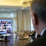 Cumhurbaşkanlığı Kabinesi ilk kez video konferans ile toplandı
