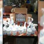 Sahte dezenfektan üreticilerine gözaltı