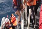 Alman turistleri sahil güvenlik kurtardı