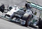 Almanya'da ilk sıra Rosberg'in