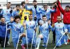 Ampute Futbol Ligi'nde 'AYBESK' şampiyon
