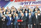 Ankara İzmir YHT'nin temeli Atıldı
