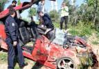 Antalya'da feci kaza: 1 ölü, 1 yaralı