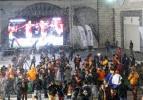 Arena'da maç öncesi kar sürprizi