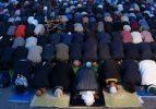 Ayasofya Meydanı'nda sabah namazı