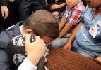 Başbakan şehit annesiyle beraber ağladı