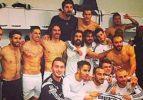 Beşiktaşlı futbolculardan liderlik pozu