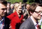 Danimarka başbakanına 1 Mayıs şoku