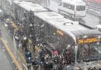 Dikkat! İstanbullular için kar uyarısı