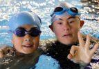 Engelli gençlerden aletli dalış