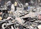 Esed pazar yerini vurdu: 45 ölü