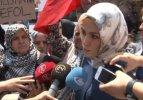 Esra Albayrak İsrail protestosuna katıldı