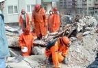Felaket binanın yerine yeni inşaat