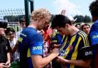 Fenerbahçe'de neşeli antrenman