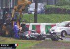 F1'de acı kaza! Ünlü pilot hastaneye kaldırıldı