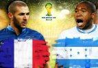Fransa mütevazi Honduras karşısında!