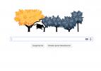Google'da sonbahar: Sonbahar Ekinoksu doodle oldu.