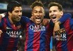 Messi, Neymar, Suarez rekor için sahada!